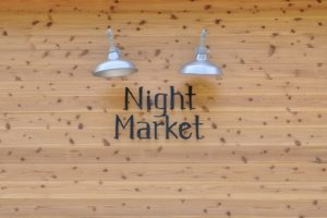 Night Market 看板