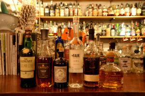 今回ためした6種類のお酒