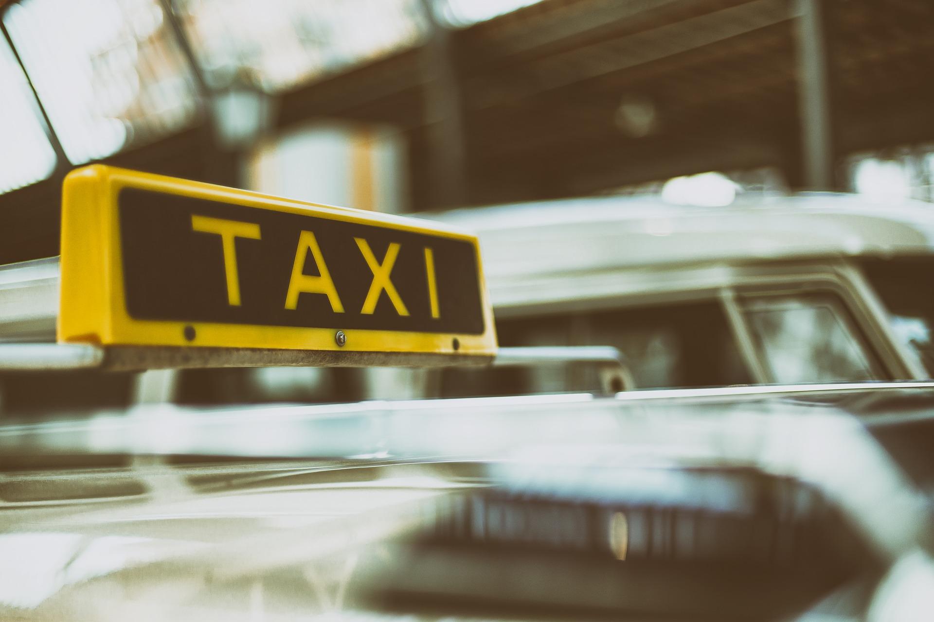 タクシーの行灯
