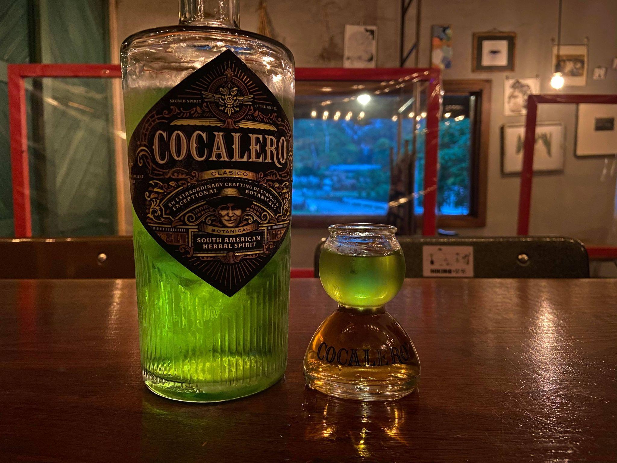 コカレロのボトルとコカボムの画像